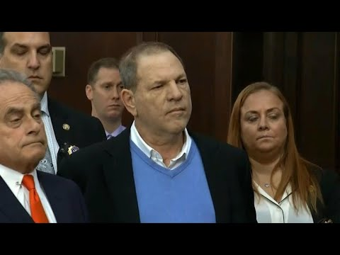 Harvey Weinstein charged with rape, criminal sex act and more