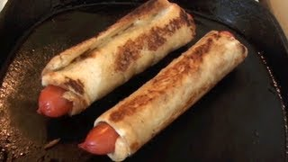 Toasted Hot Dogs Recipe