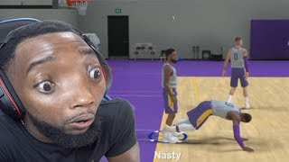 NBA 2K19 MyCareer | Lebron Wants Me To Touch Him At Practice!! Ep. 4