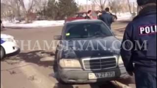 Աբովյանի քաղաքապետարանի դիմաց Mercedes ով վրաերթի է ենթարկել քաղաքապետարանի աշխատակցին