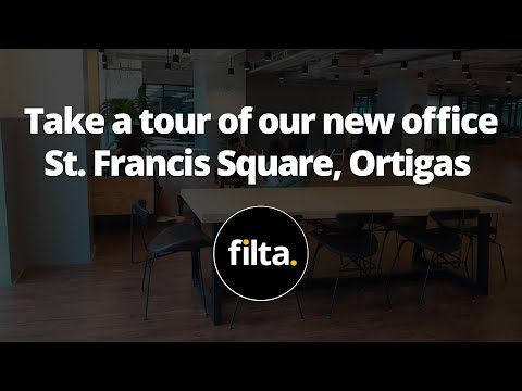 Take A Tour Of Filta's New Office In St Francis Square, Ortigas.