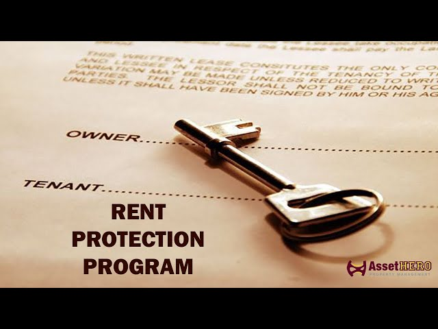 Rent Protection Program   Asset Hero Property Management