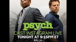 Psych Cast Instagram Live (4/8/2020)