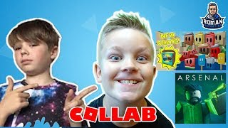 roblox collab with Aaron Welch and Roman Reporting