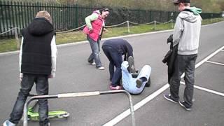 TG Scooter Ramp Jump FAIL