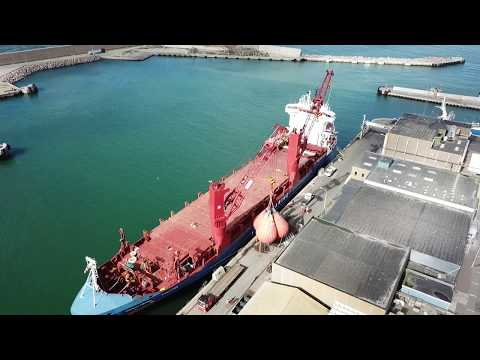 PROOFLOAD Waterbag Load Test of Ship Crane 275ton