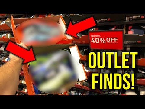 HOW DO THEY HAVE THESE?! - NIKE & ADIDAS SOCCER CLEAT OUTLET STORE SHOPPING