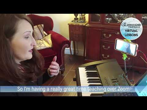 Virtual Lessons at Expressions Music Academy