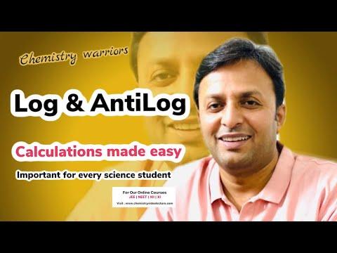 Log , antilog , Tricks , use of Log table for calculations