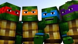 One of FuturisticHub's most viewed videos: Teenage Mutant Ninja Turtles IN MINECRAFT [Minecraft Animation]