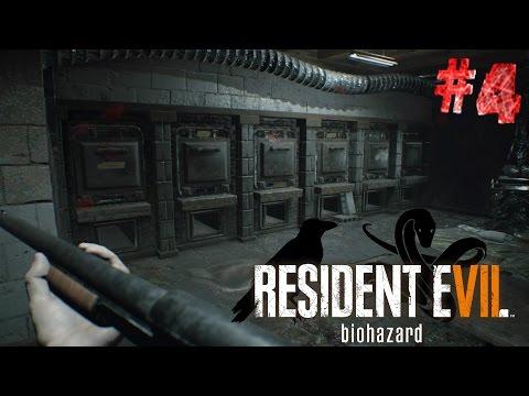 Resident evil 7! #4 El crematorio y llaves cuervo y serpiente