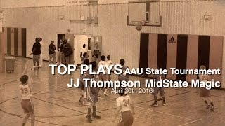 jj thompson top plays 12u nc aau state championship 2016