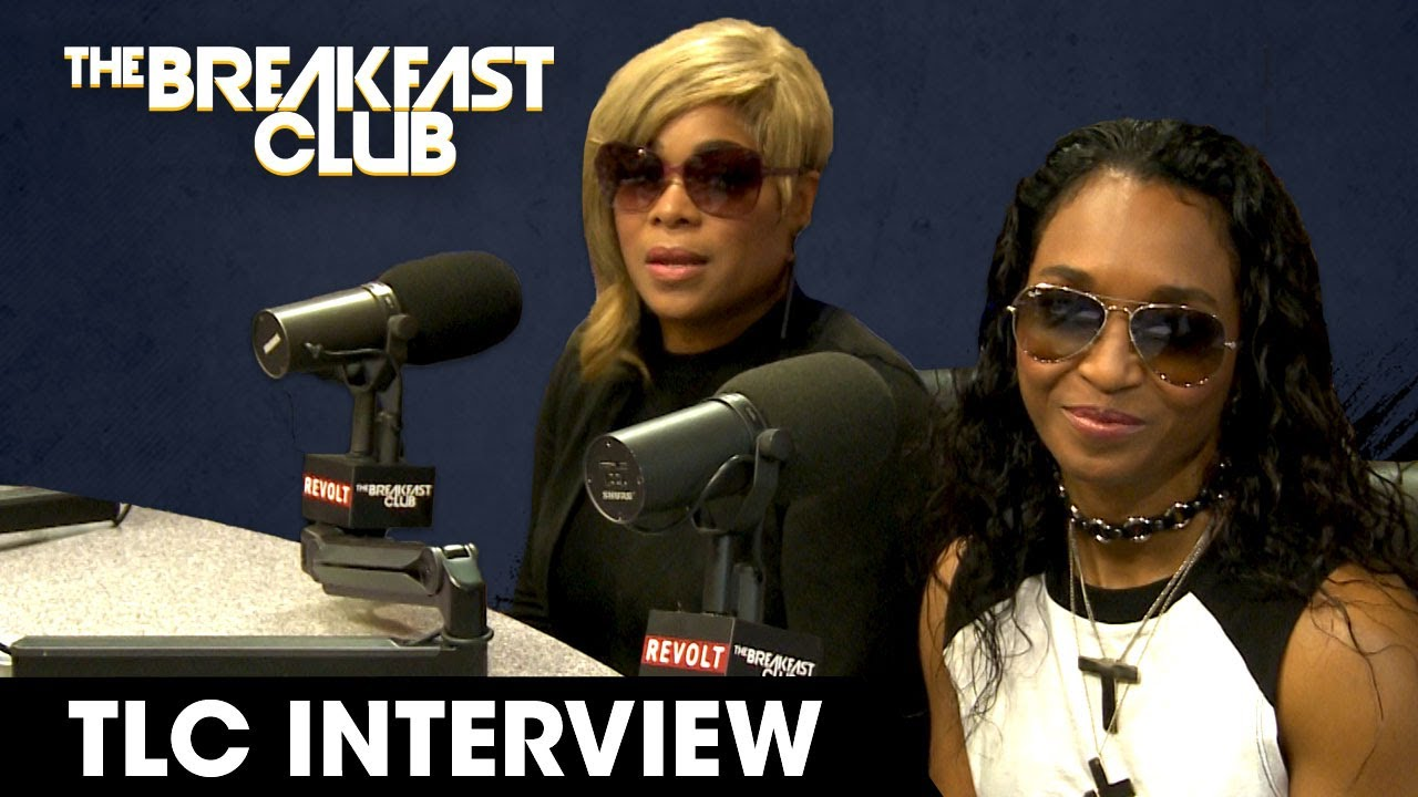 TLC Talk New Music, Charlamagne Begs Chilli To Unblock Him On Twitter