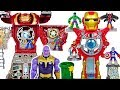 Marvel Avengers Iron Man Headquarters vs Hulkbuster Ultimate transform HQ, Thanos! #DuDuPopTOY