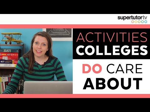 Activities That DO Impress Colleges!!! OWN the College Admis