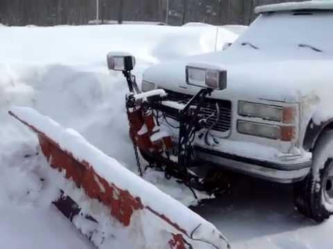 western unimount snow plow lights 001  YouTube