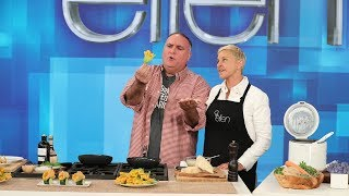 José Andrés and Ellen Say Cheers to Vegetables