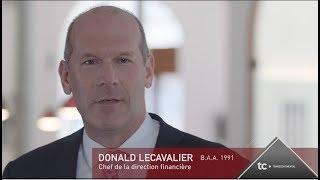 Donald Lecavalier, B.A.A. 1991 – Prix Performance ESG UQAM 2018