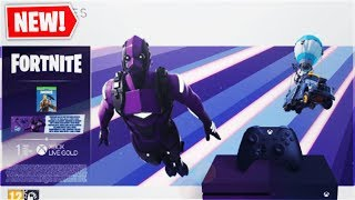 "The New ""XBOX ONE S"" Bundle In Fortnite! How To Get Purple Vertex Skin FOR FREE (Purple Vertex Skin)"