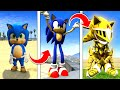 Gambar cover How To UPGRADE SONIC Into A GOD In GTA 5 ... Secret Powers! - GTA 5 Mods Funny Gameplay