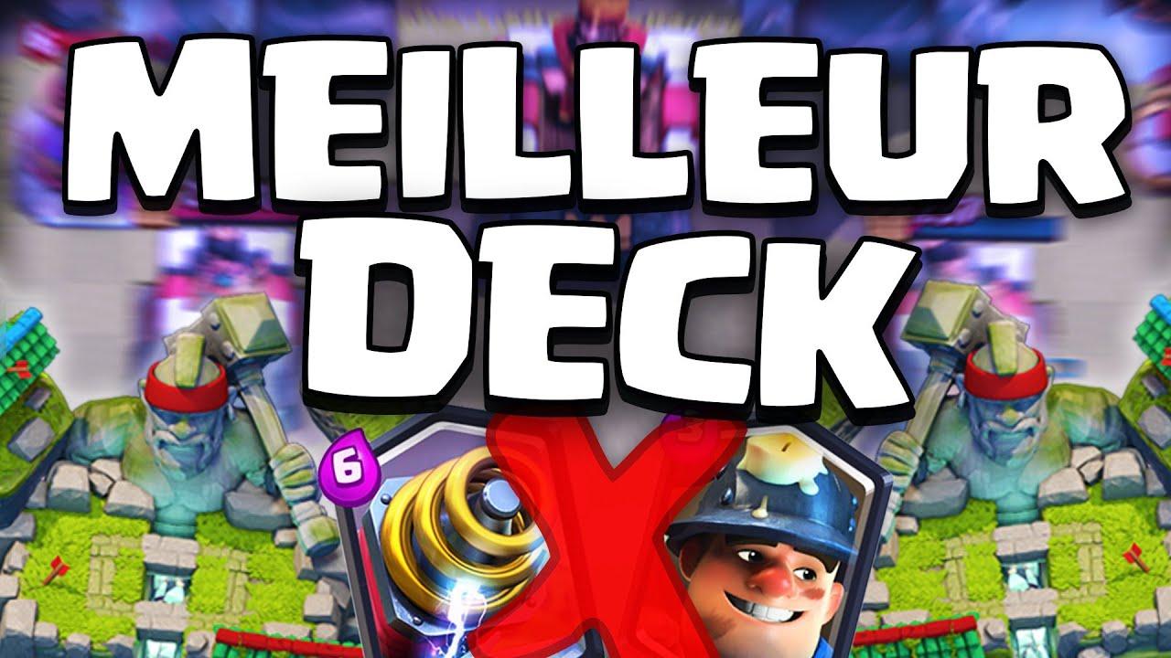 Top 3 meilleur deck sans l gendaire sur clash royale for Meilleur deck arene 4