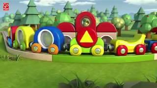видео Игрушки Eichhorn – купить железную дорогу и кубики Eichhorn