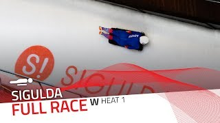 Sigulda | BMW IBSF World Cup 2019/2020 - Women's Skeleton Heat 1 | IBSF Official
