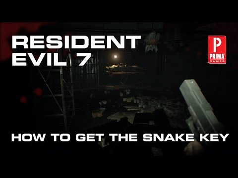 Resident Evil 7 - How to Get the Snake Key