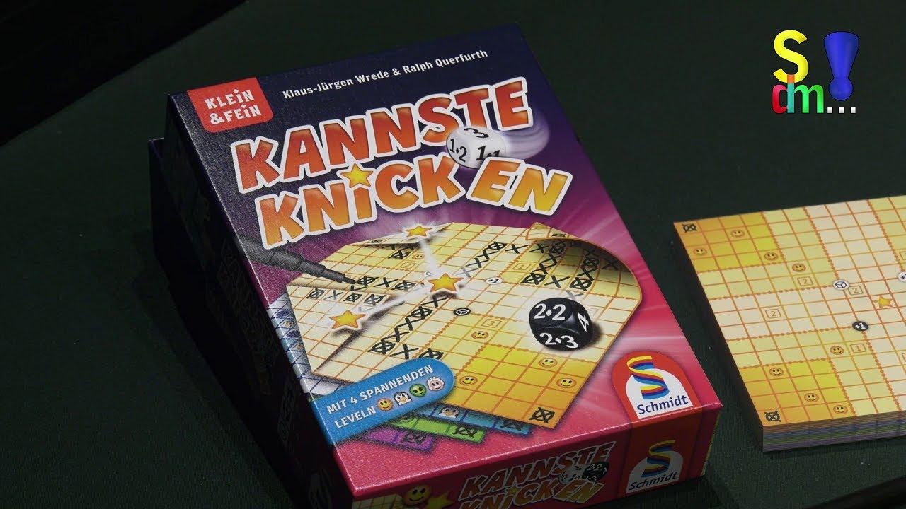 Redakteure als Spieleautoren - KANNSTE KNICKEN - Ralph Querfurth - Spiel doch mal...! - Bericht