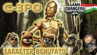 🇭🇺 C-3PO bemutatása magyarul! - SWGOH