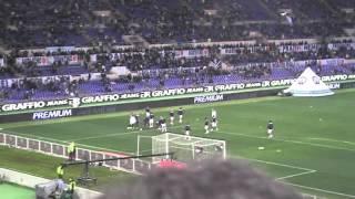Lazio - Napoli 1  a 1 - Riscaldamento - Super Federico Marchetti - 9 febbraio 2013
