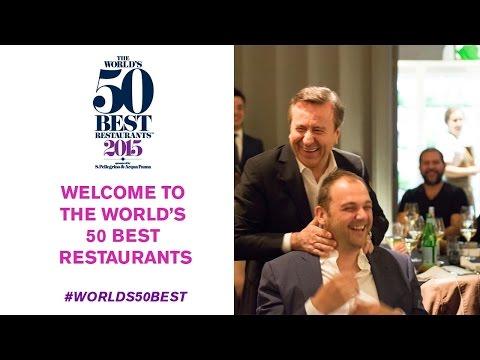 The World's 50 Best Restaurants moves to New York