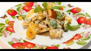 Салат из репы с кешью и лимонными сухариками | Небанальная кухня Павлова