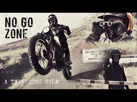 'NO GO ZONE' Custom Honda / Yamaha Scrambler Motorcycle -NO GO ZONE- By TWINTHING CUSTOM MOTORCYCLES