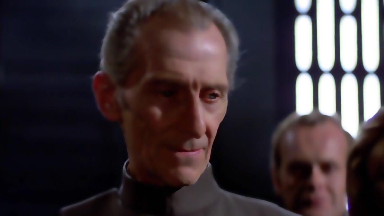 Star Wars Rogue One CGI Tarkin Explained YouTube - Scenes original star wars created cgi
