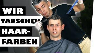 2 Dummköpfe färben sich gegenseitig die Haare... 💅 ! | Kostas Kind x David Milan