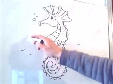 Deniz Atı çizmek Nasıl Youtube