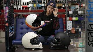 Ретро снова в моде Новый шлем Shoei EXZero в руках известной мотогонщицы Анастасии Нифонтовой