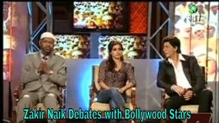 Dr Zakir Naik Debates   with Bollywood Stars - on India Media - Peace TV on Dish TV 2017