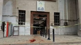 Deadly suicide blast rocks Damascus courthouse