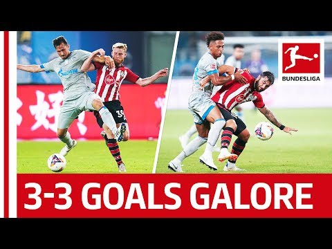 Goalfest In China - FC Schalke 04 vs. Southampton FC - All Goals & Highlights