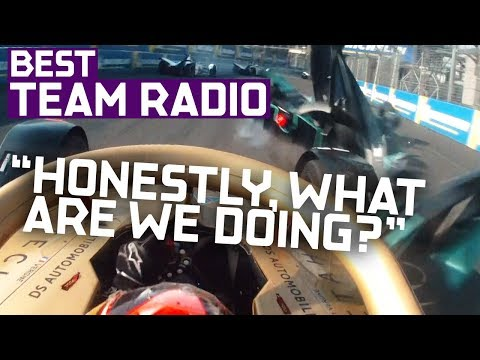 Best Team Radio | 2019 CBMM Niobium Mexico City E-Prix | ABB FIA Formula E Championship