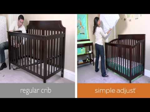 Summer Infant Lancaster Easy Reach Crib With Simple Adjust | Toys R Us Canada