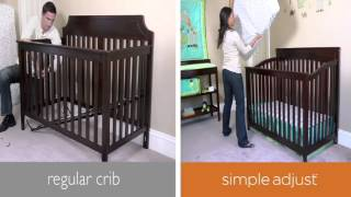 Summer Infant Lancaster Easy Reach Crib With Simple Adjust