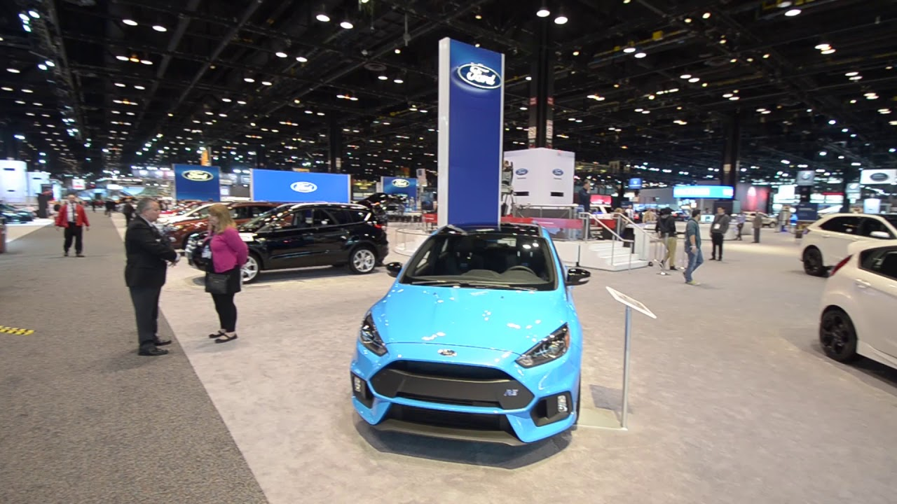 Tour The Ford Exhibit At The 2018 Chicago Auto Show With Anderson Automotive Group