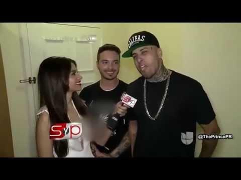Nicky Jam imita a Daddy Yankee junto a J Balvin