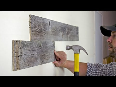 Wood Accent Wall Installation Instructions