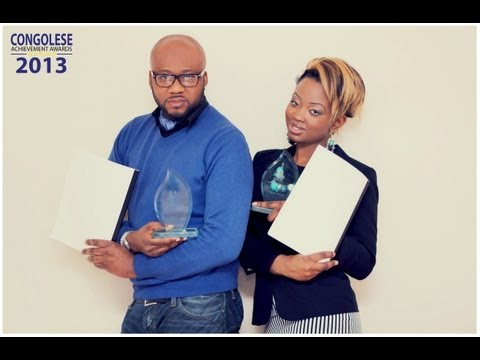 Cynthia Kams and Will Mukena release the nominess for The Congolese Achievement Awards 2013