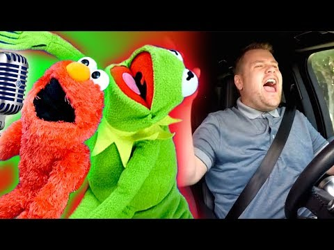 Elmo and Kermit the Frog Car Karaoke!