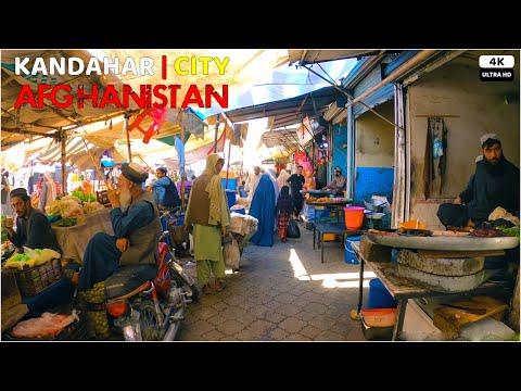 Kandahar City | Afghanistan | 4K